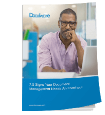 Free White Paper: 7.5 Signs Your Document Management Needs An Overhaul