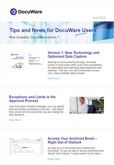 UserInfo Newsletter